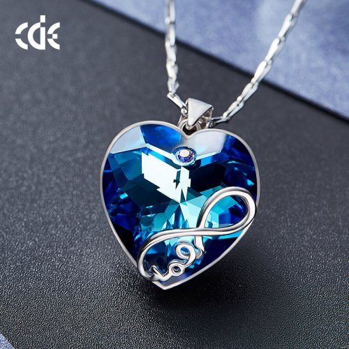 Crystals From Swarovski® | Swarovski Elements Crystal Heart Pendant Neckla