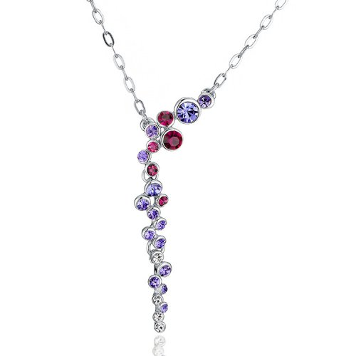 Crystals From Swarovski® | Bubble Crystal Pendant Necklace