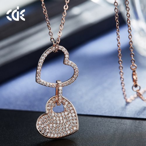 Crystals From Swarovski® | Long Crystal Match Pendant Necklace