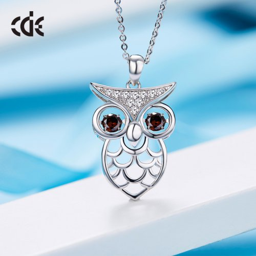 Cool Crystal Owl Pendant Necklaces Necklace
