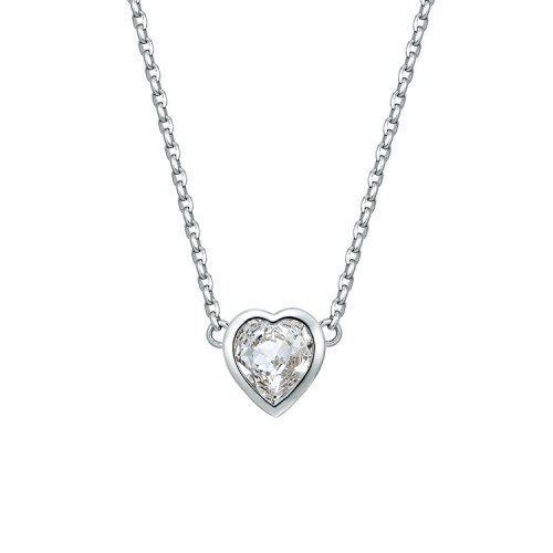 Crystals From Swarovski® | Diamond Heart Pendant Necklace