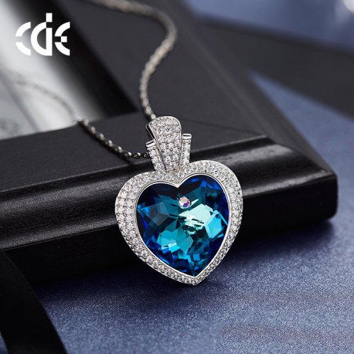 Crystals From Swarovski® | Ocean Love Pendant Necklace