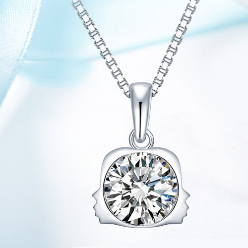 Crystals From Swarovski® | 925 Sterling Silver Zodiac Gemini Pendant Necklace