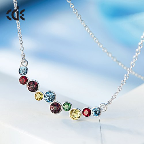 Crystals From Swarovski® | Crystal Beads Pendant Necklace