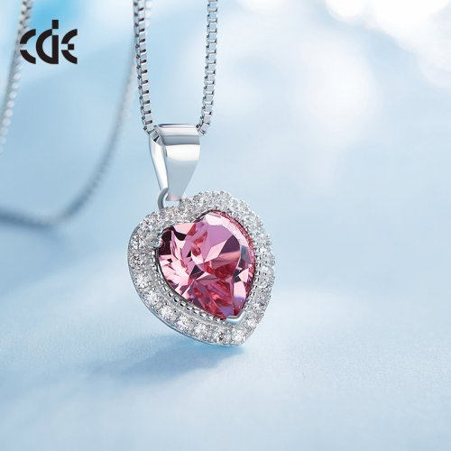 Crystals From Swarovski® | Birthstone October Crystal Stone Pendant Necklace