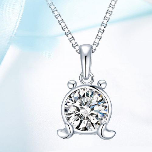 Crystals From Swarovski® | 925 Sterling Silver Zodiac Cancer Pendant Necklace