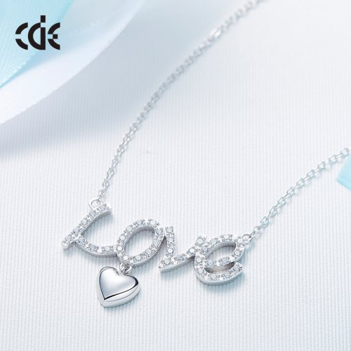 Crystals From Swarovski® | Love Heart Pendant Necklace